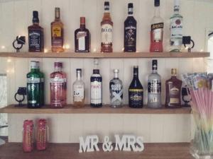Shelves and Bottles
