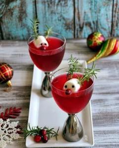 prosecco garden reindeer drinks